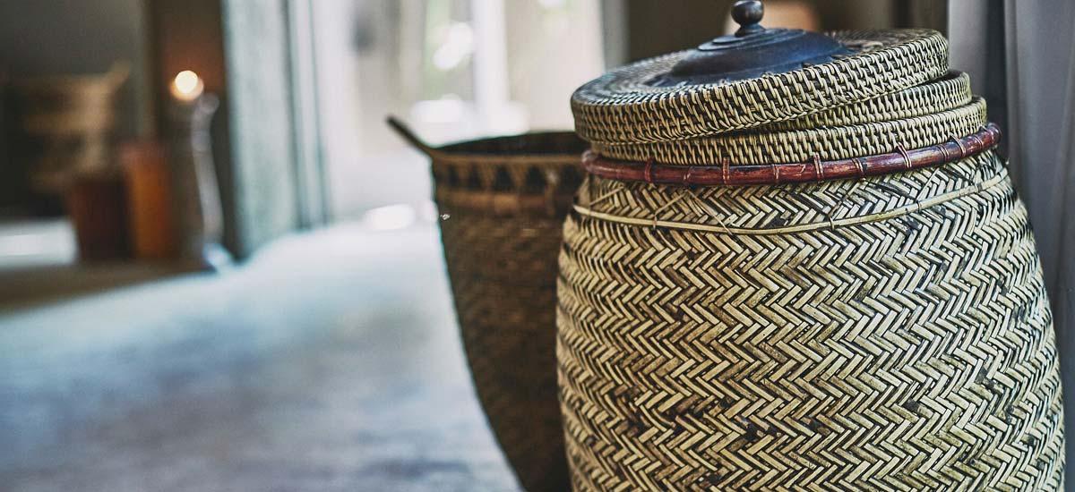 villa nomade baskets