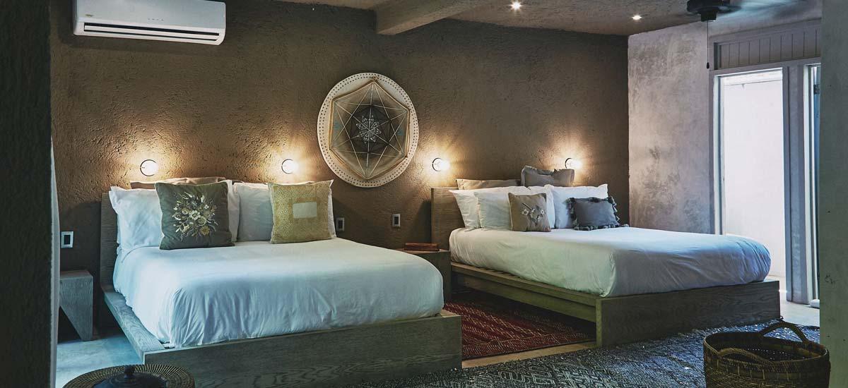 villa nomade bedroom