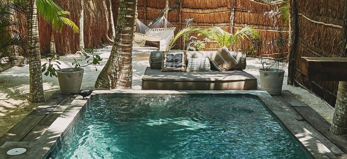 villa nomade pool 2