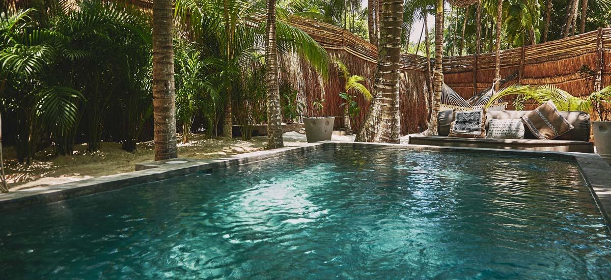 villa nomade pool