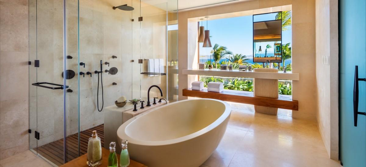 villa one bathroom