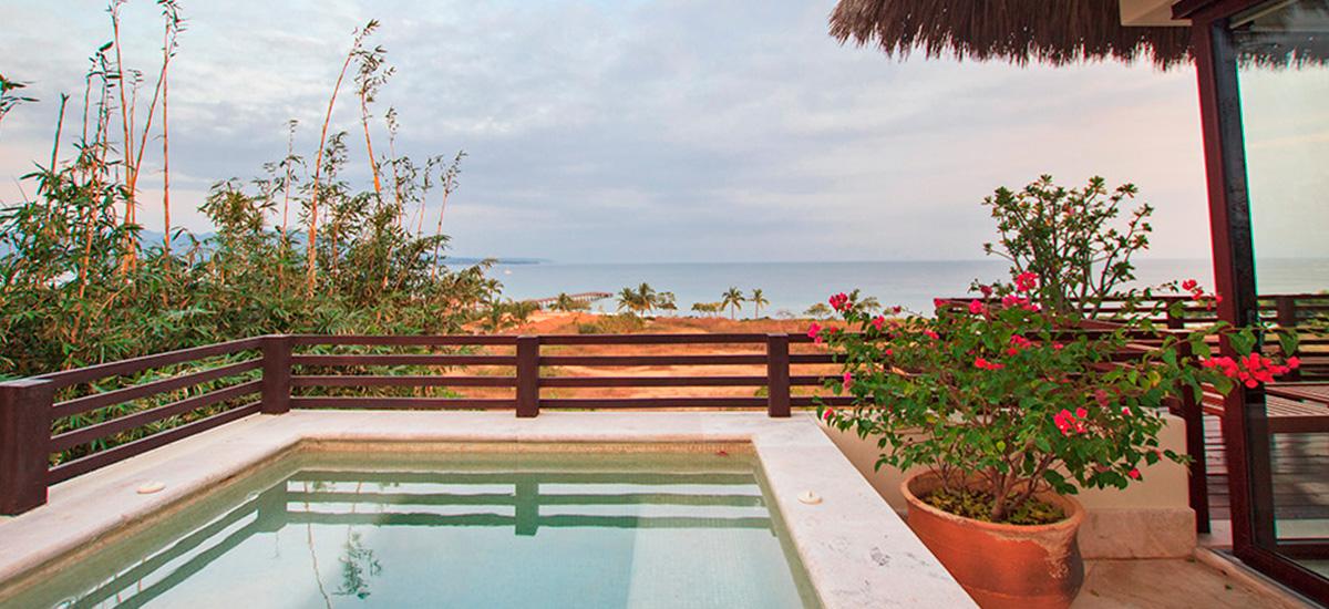 villa onix view