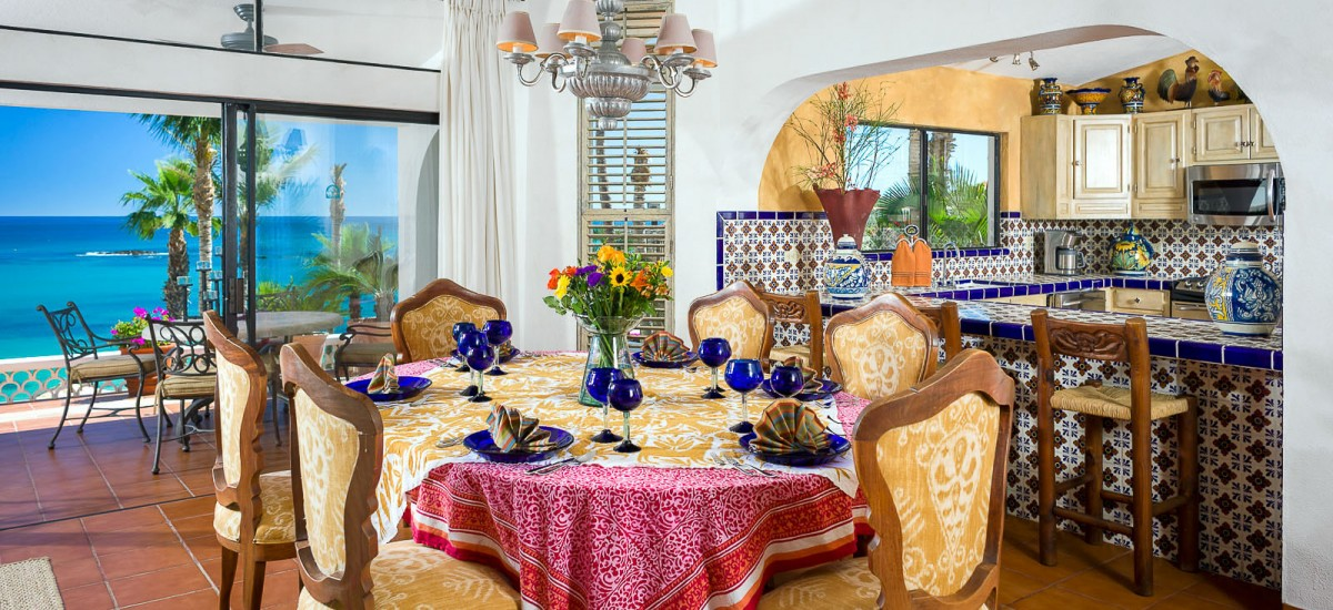 villa pacifica palmilla kitchen table