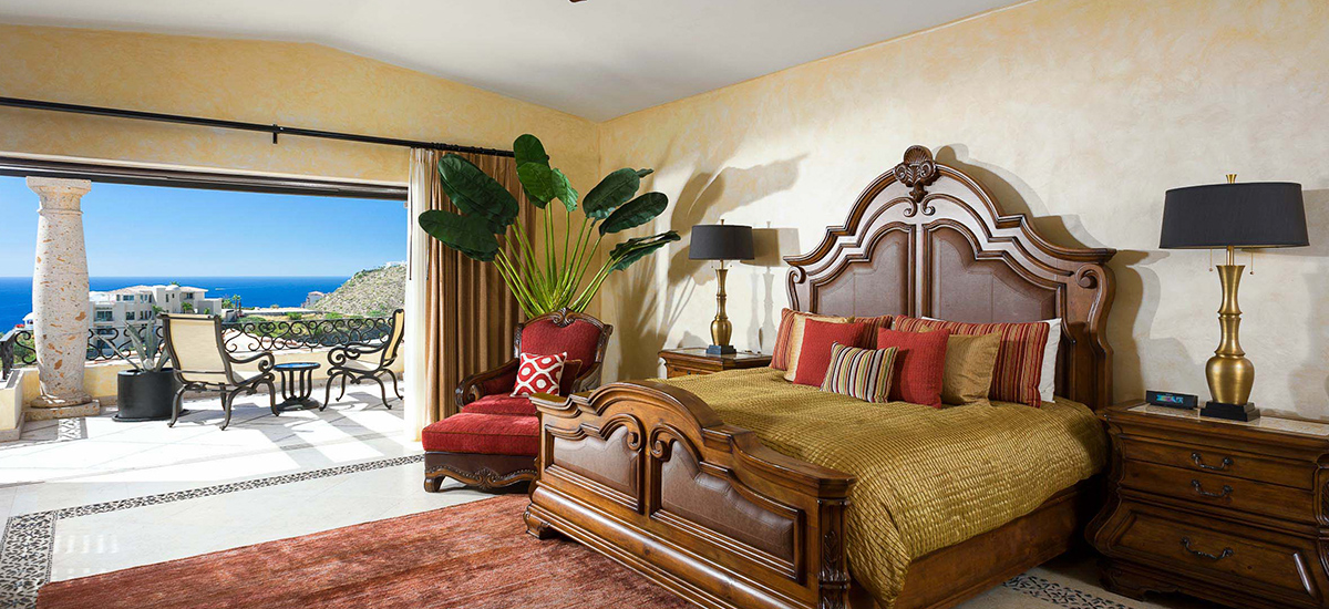 villa piedra bedroom