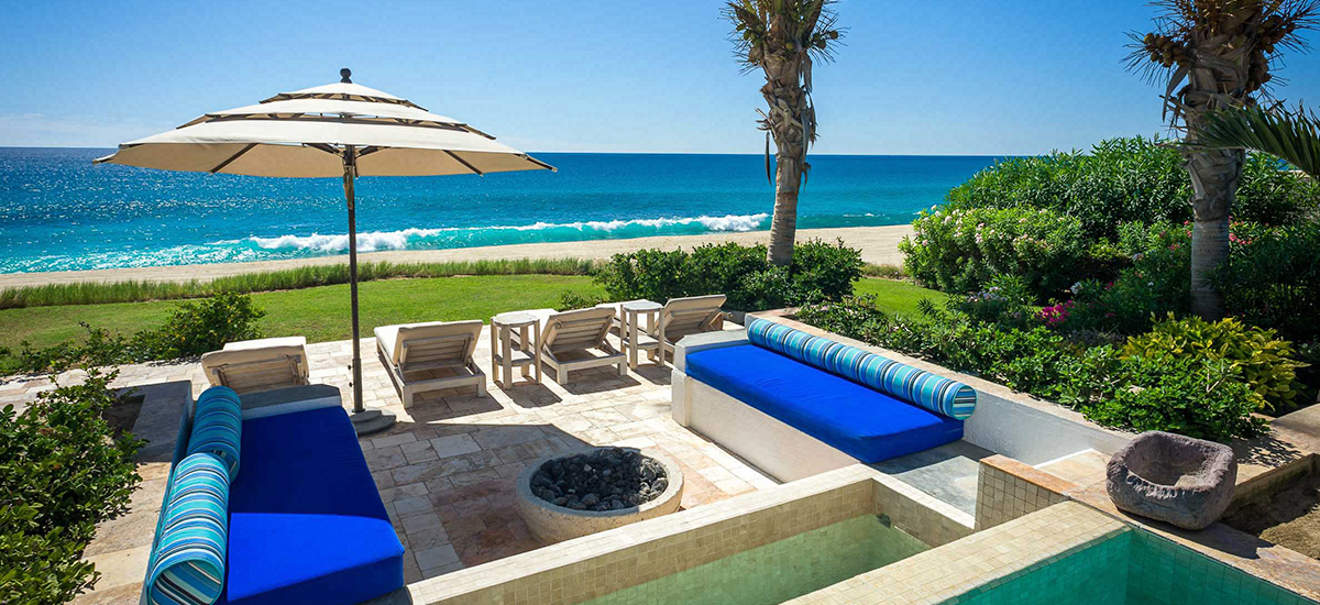 villa piedra blanca garden lounge