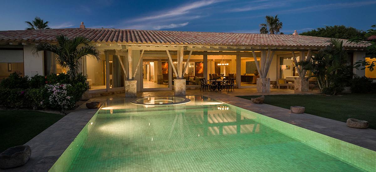 villa piedra blanca pool 3