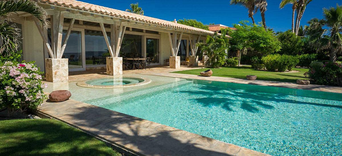 villa piedra blanca pool 4