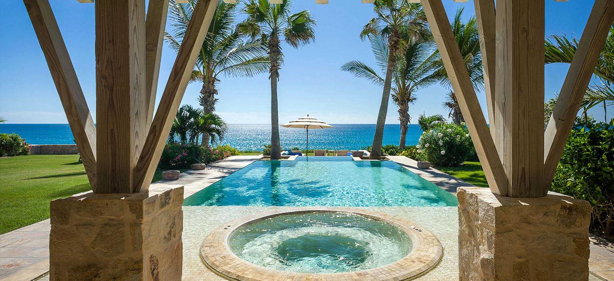 villa piedra blanca pool 5