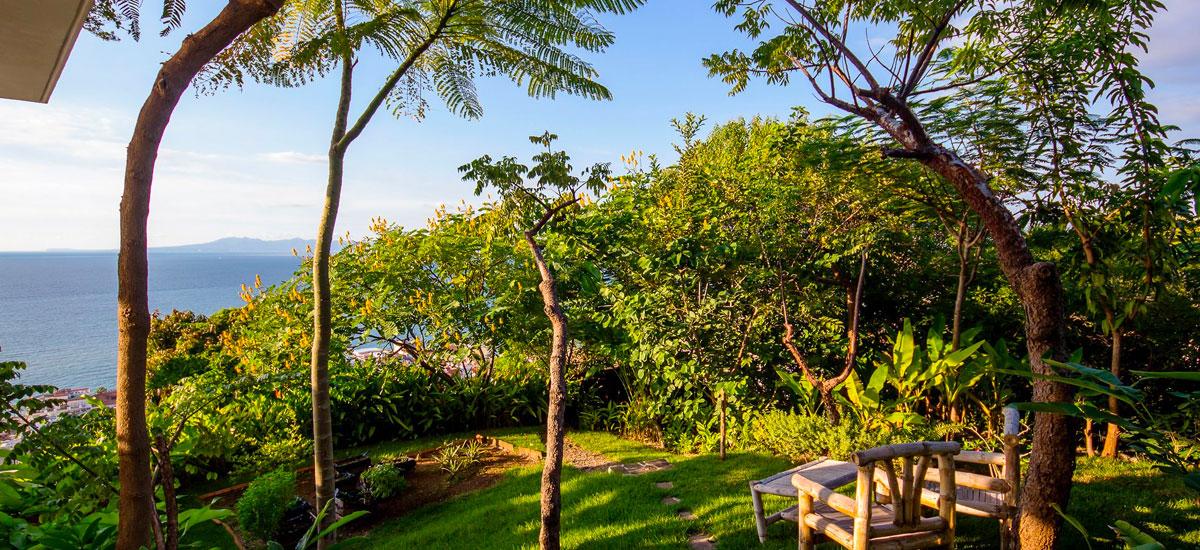 villa punta del cielo garden