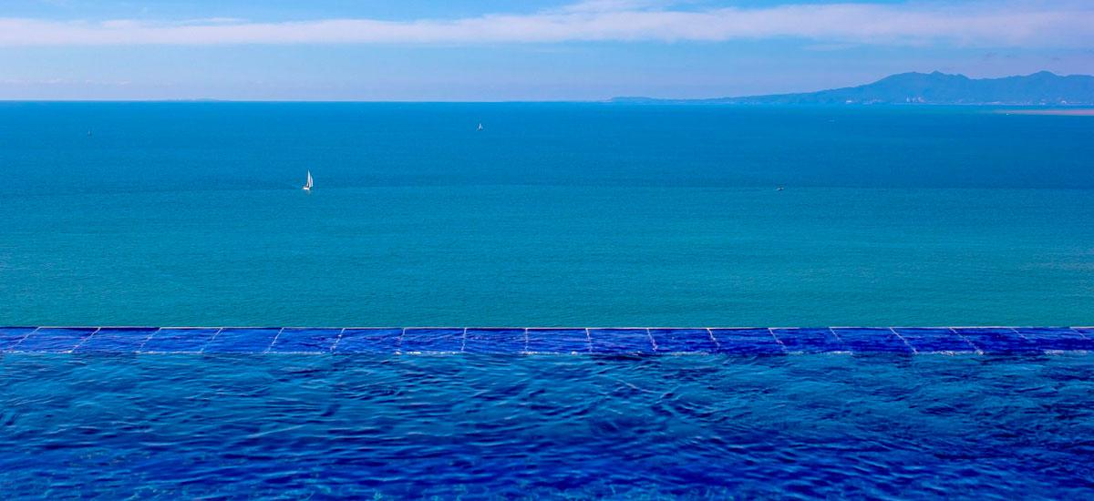 villa punta del cielo infinity pool 2