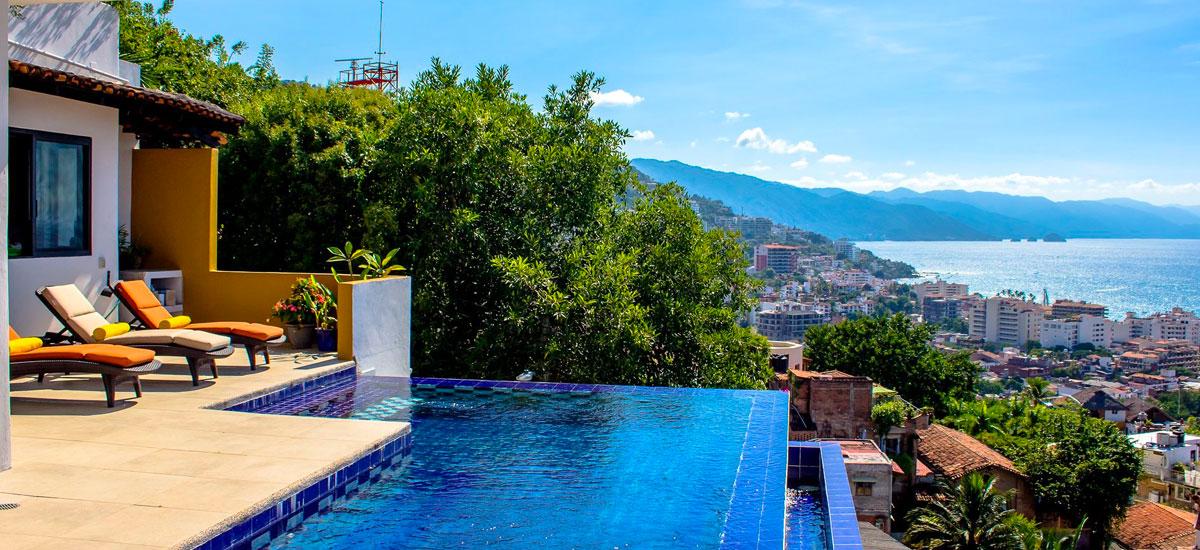 villa punta del cielo pool 3