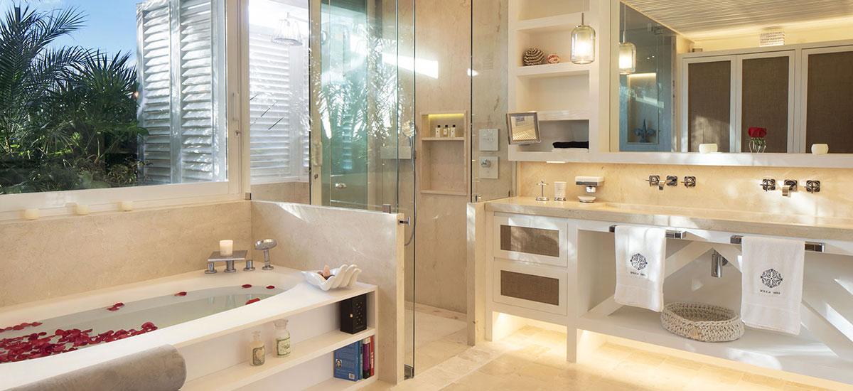 Villa Sha Bath Jacuzzi