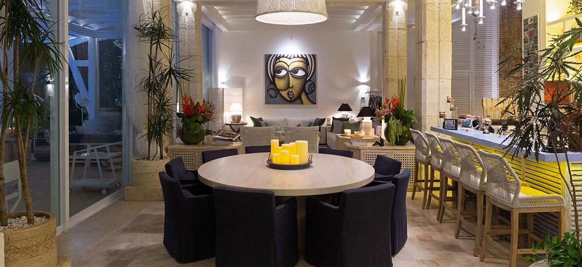 Villa Sha Dinning Room