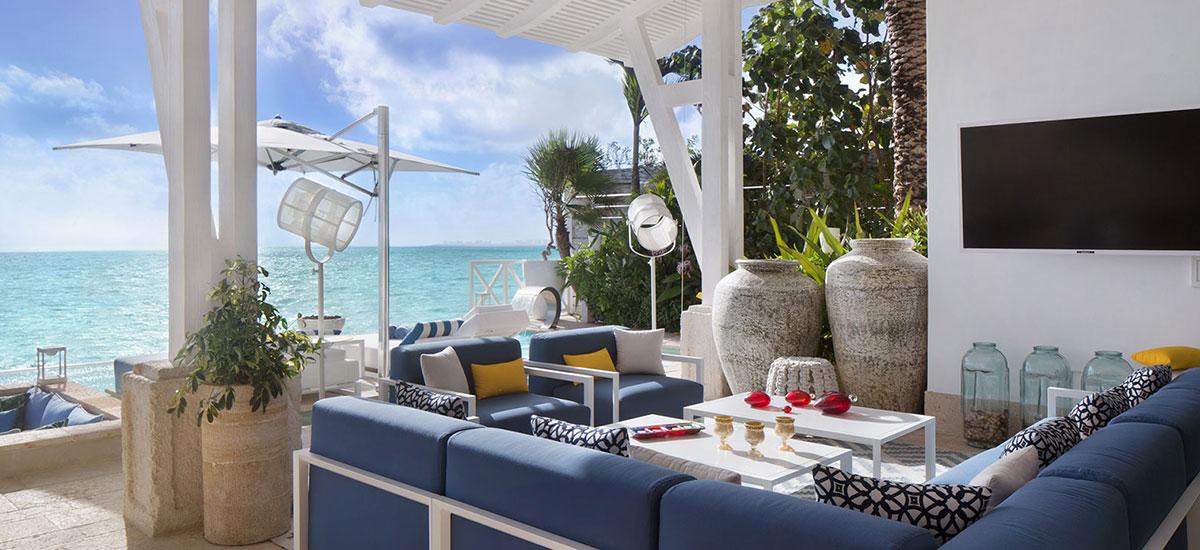 Villa Sha Living Room Ocean View