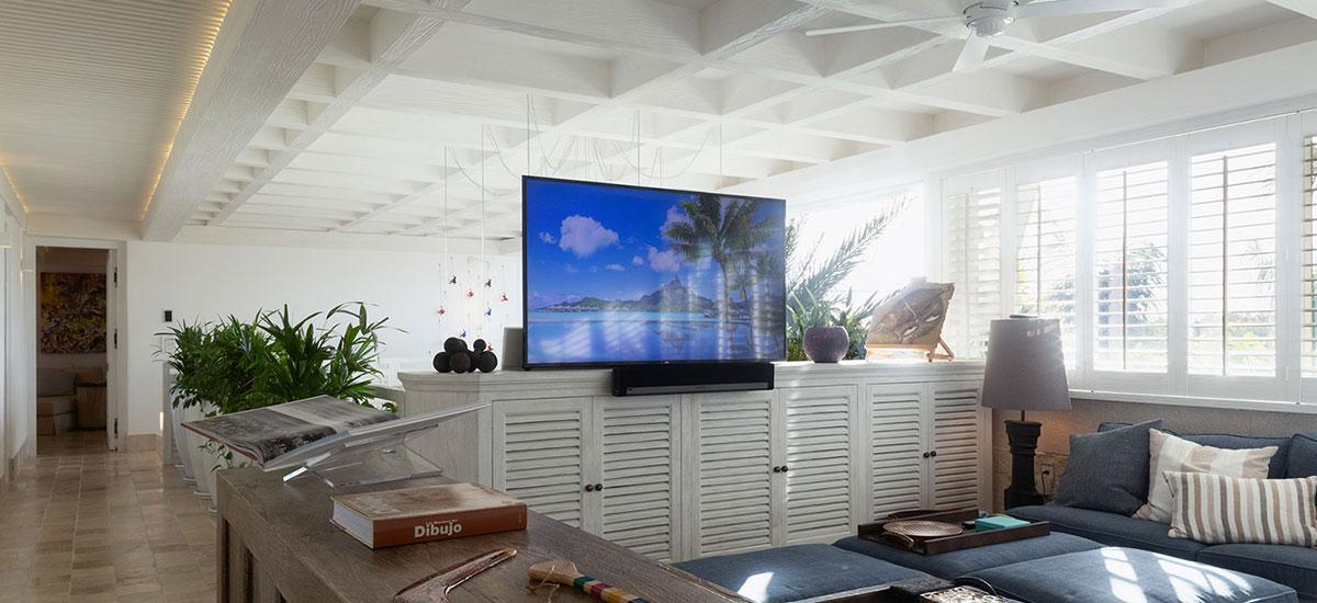 Villa Sha Living Room TV