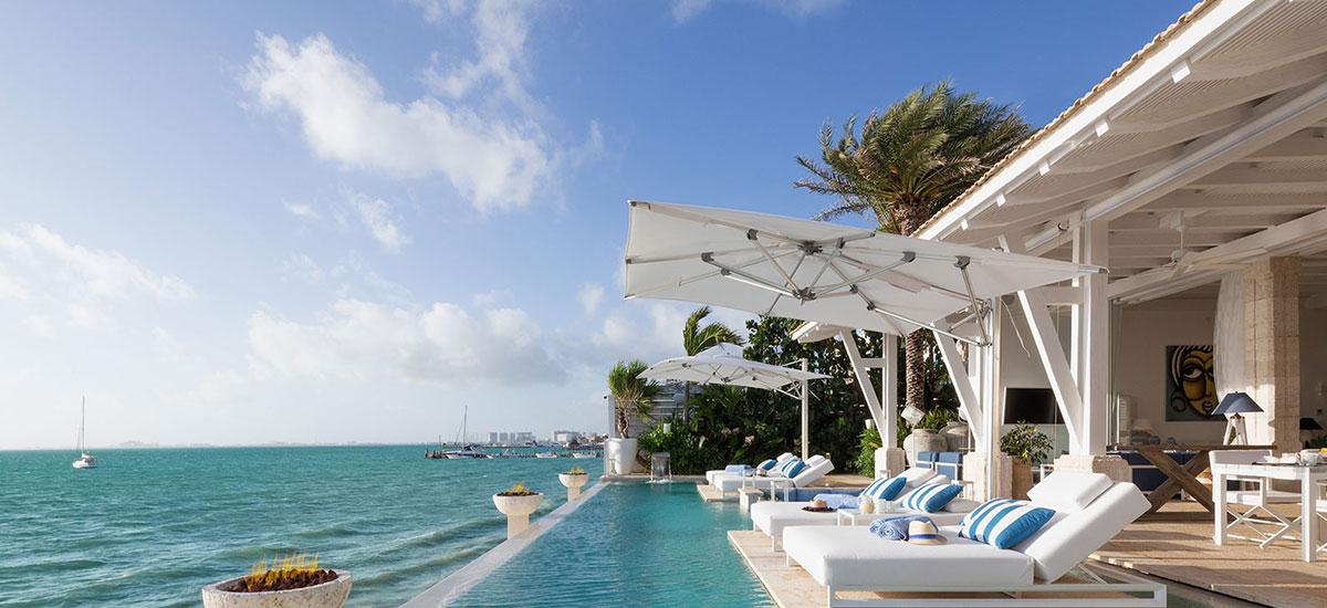 Villa Sha Ocean view in pool