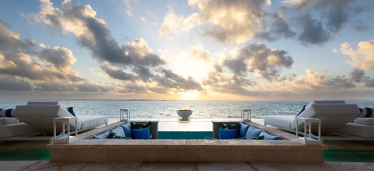 Villa Sha Pool Ocean view day