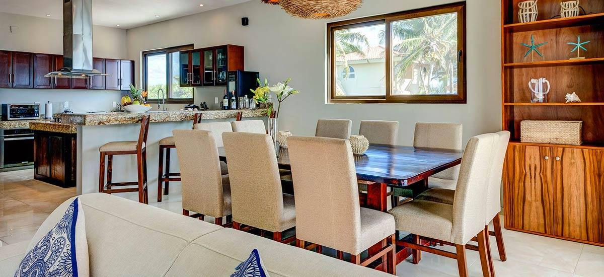 villa sofia dining room
