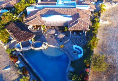 villa solarena cabo aerial