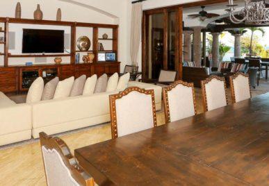 villa solarena dining room