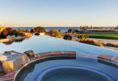 villa solarena pool