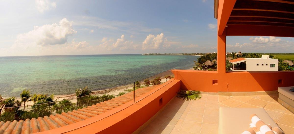 villa sueno del mar balcony