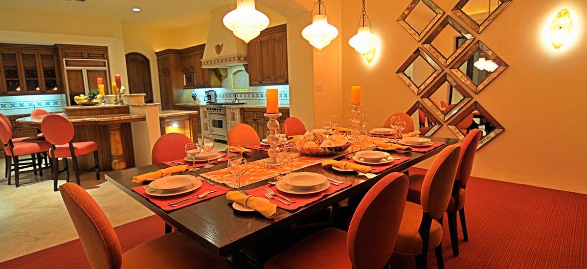 villa terraza 371 dining