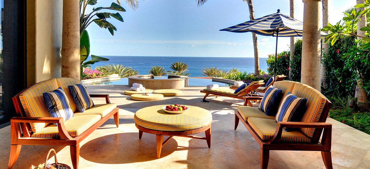 villa terraza 371 pool lounge
