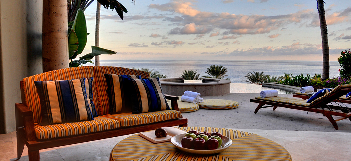 villa terraza 371 sofa view