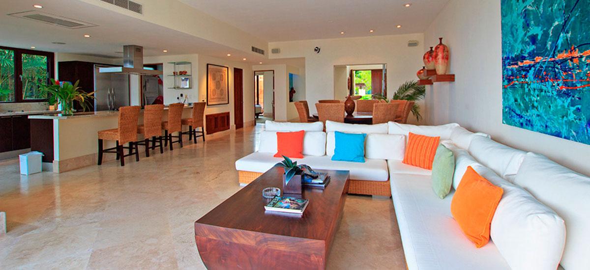 villa topacio living room 2