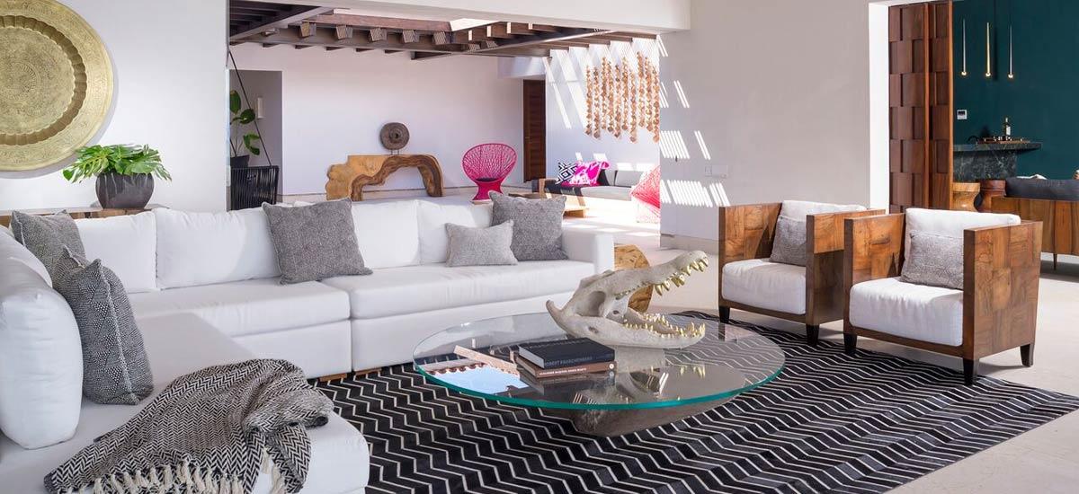 villa tres amores couches