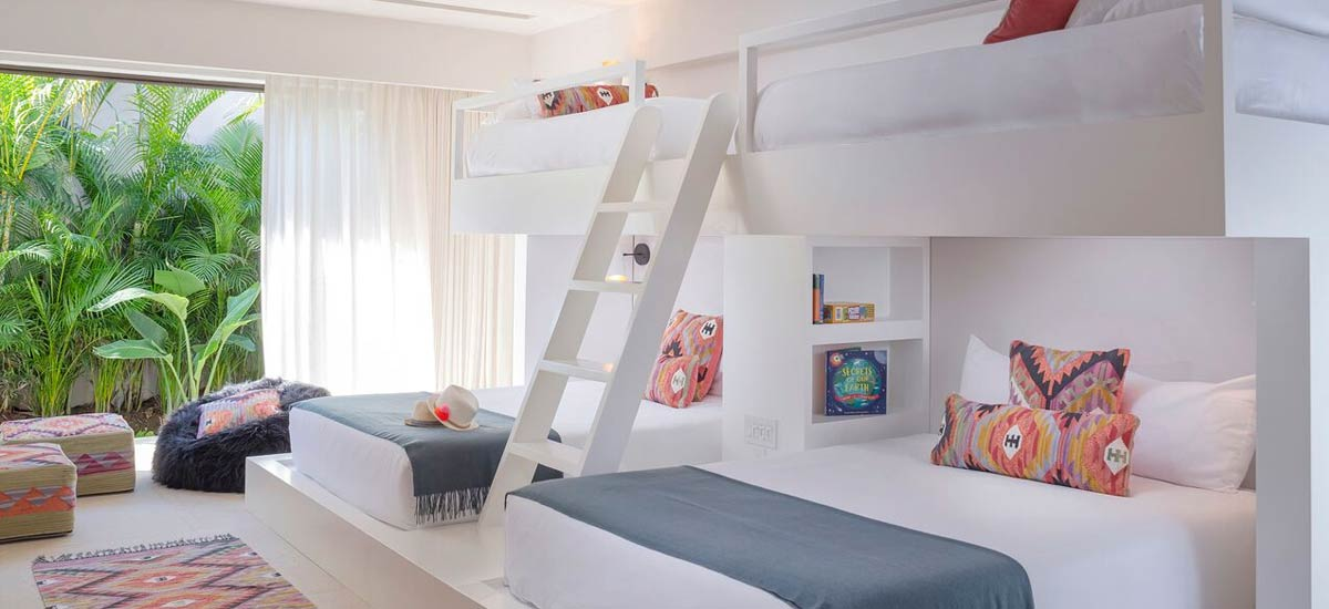villa tres amores double bunk bed
