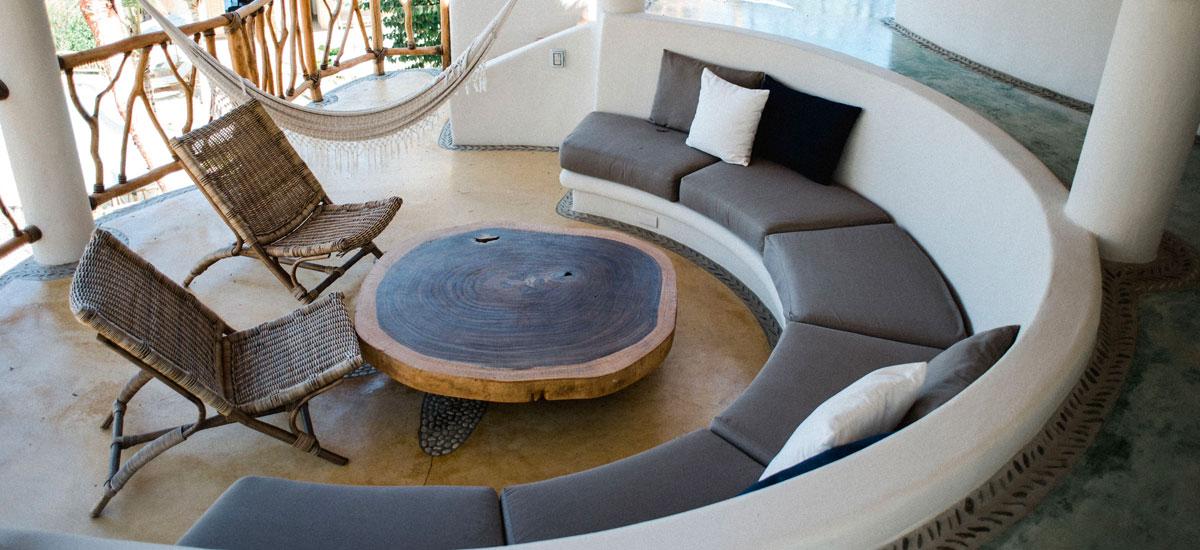 villa valentin living room