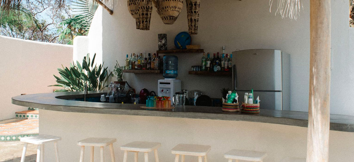 villa valentin palapa bar