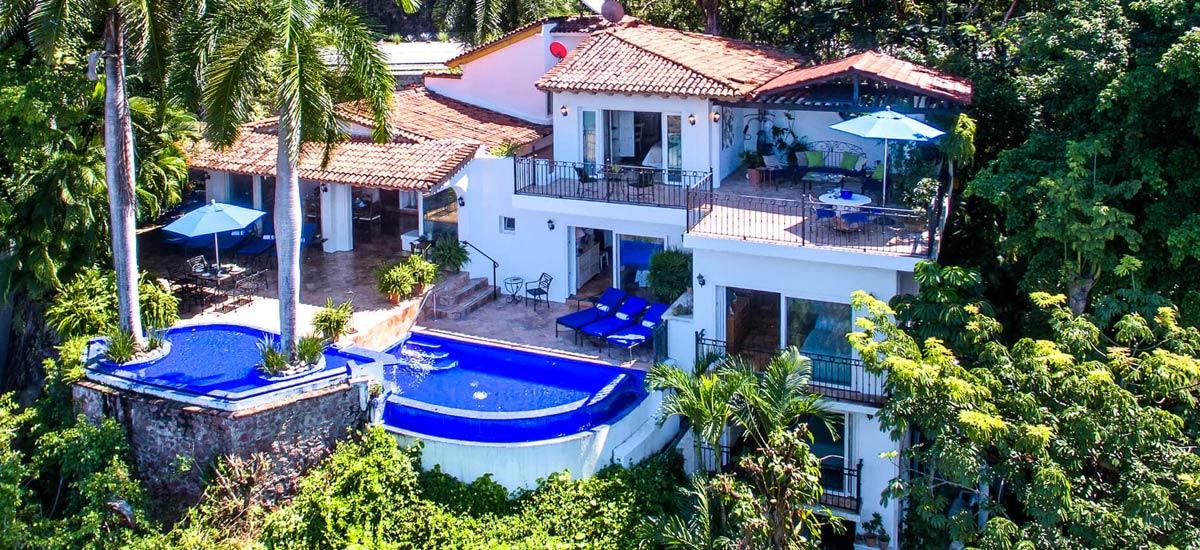 villa vista de aves aerial view