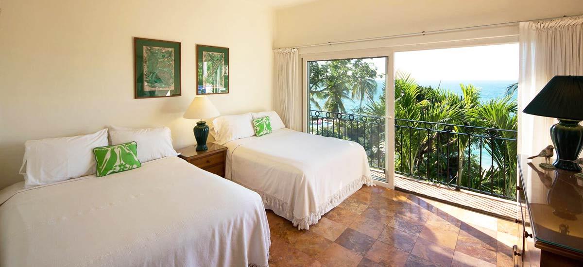 villa vista de aves double bedroom