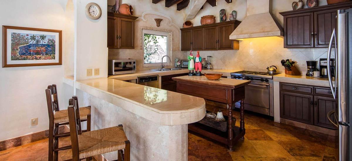 villa vista de aves kitchen