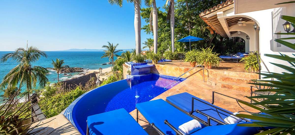 villa vista de aves terrace pool