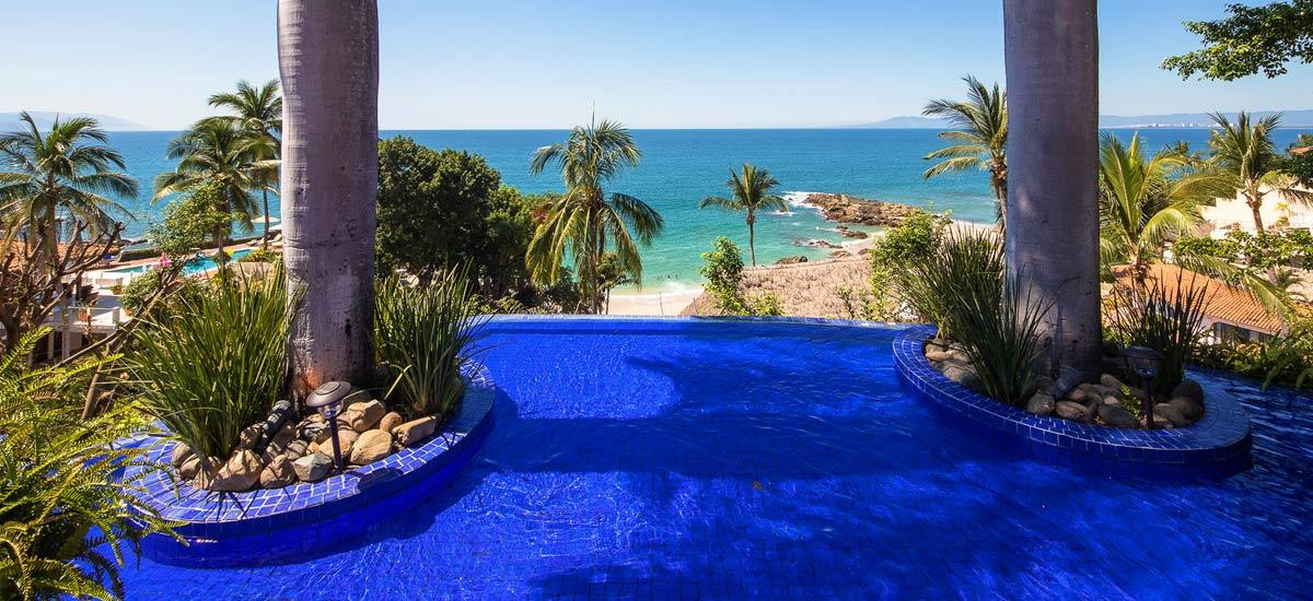 villa vista de aves terrace view pool