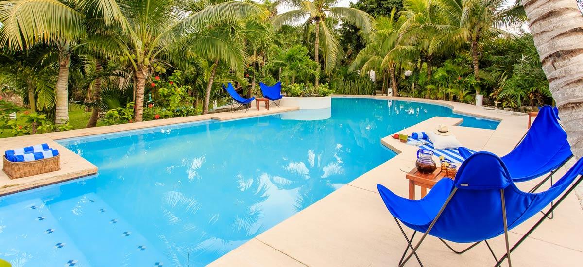 villa yuum ha pool 2