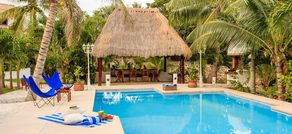 villa yuum ha pool