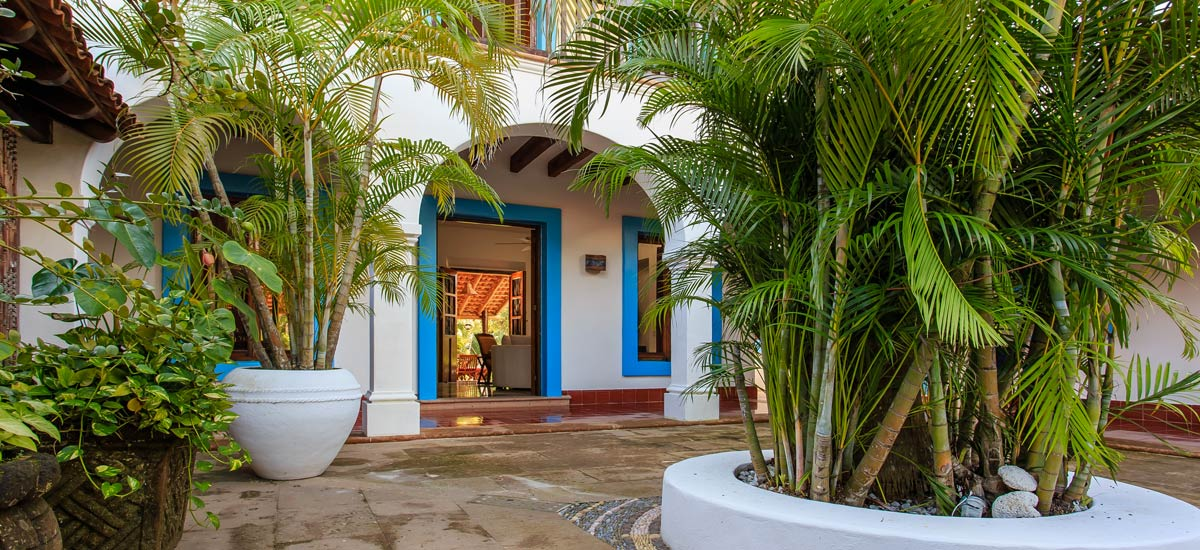 villa yuum ha entry