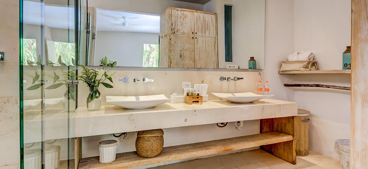 villa zacil na riviera maya bathroom 7