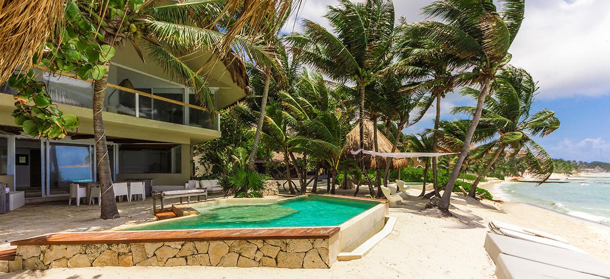 villa zacil na pool