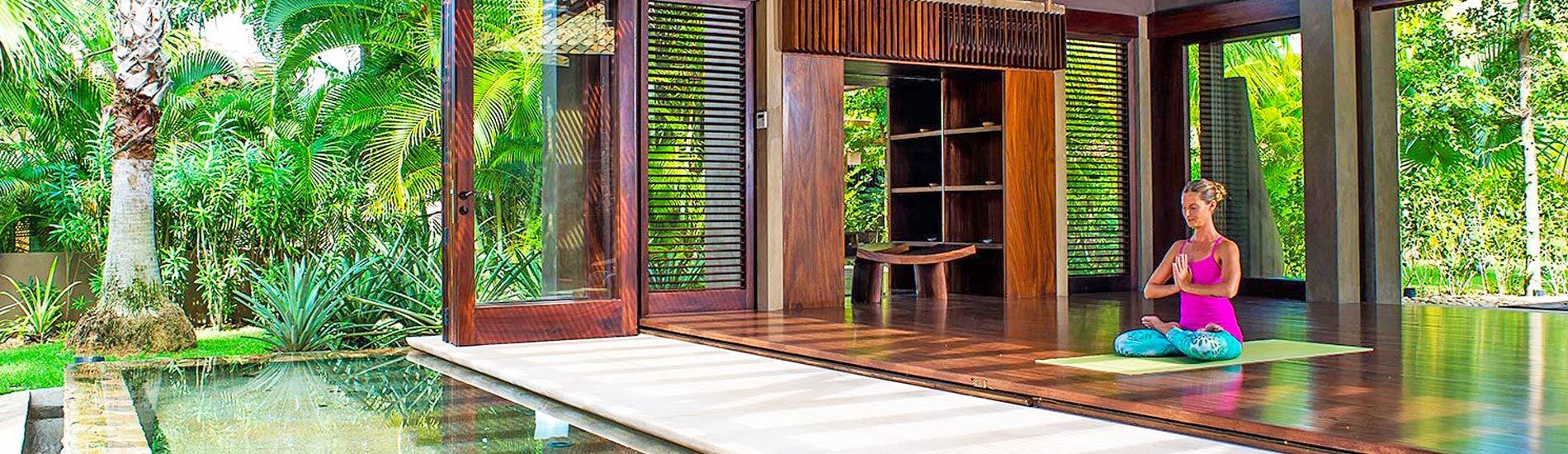 villas for yoga & wellness in mexico